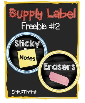 Supply Label Freebie #2