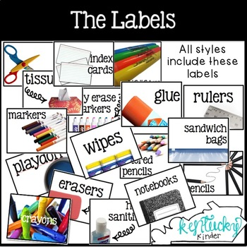 Supply Labels!