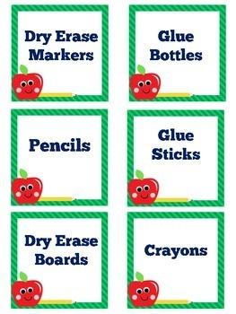 Classroom Labels | Labels | Supply Labels | Printable Labels | Class Labels