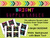 Supply Labels - Black