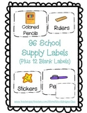 Supply Labels Bundle