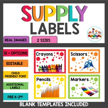 Supply Labels Editable