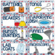 Supply Labels Nautical Theme {EDITABLE}