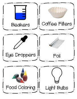 Supply Labels (Science)