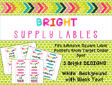 Supply Labels - White