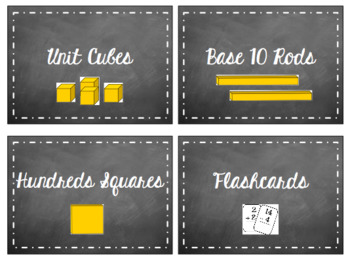 Supply Labels (editable)