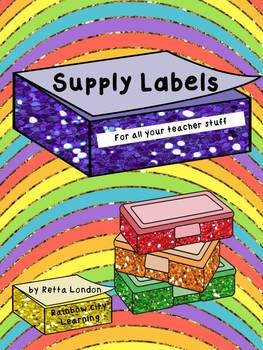 Supply Labels for All Your Teacher Stuff