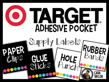 Supply Labels for Target Adhesive Labels