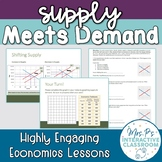 Supply Meets Demand (2 Day Economics Lesson on Market Equi
