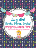 Supply Plans: Emergency Sub Plans Grade 3 - Book Theme