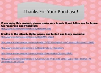 Supply Polka Dot Labels :)