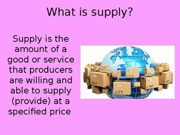 Supply PowerPoint