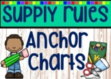 Supply Rules Anchor Chart