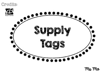 Supply Tags