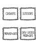 Supply Tub Labels