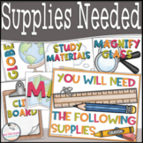 Supply Visual Cues for Your Board & Sanity!