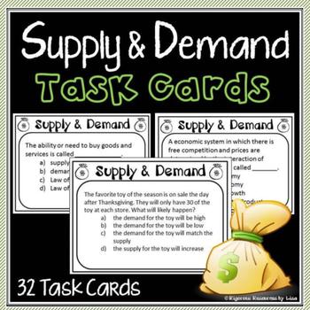 Economics Task Cards Resources Lesson Plans Teachers Pay Teachers