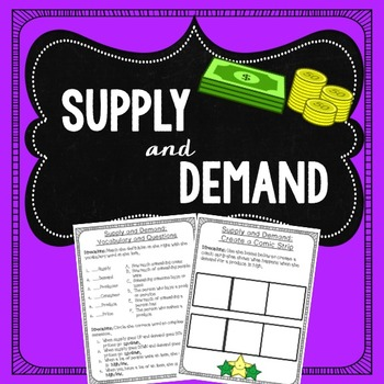 Supply and Demand Lesson: Powerpoint and Activities