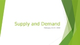 PowerPoint: Supply and Demand