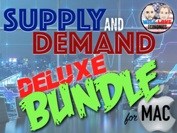Supply and Demand Deluxe Bundle - Keynote Version (MAC USERS ONLY)