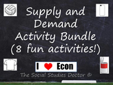 Supply and Demand Economics Activity Bundle (8 Great Activities!)