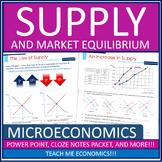 Economics - Supply and Demand, Price Ceilings + Floors Pow