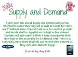 Supply and Demand: Fun, Interactive Stations!