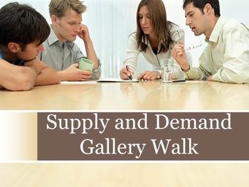 Supply and Demand Gallery Walk