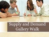 Supply and Demand Gallery Walk Activity
