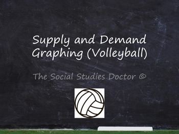 Supply and Demand Graphing (Volleyball)