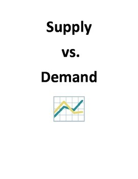Supply and Demand - Marketing and Advertising