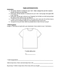 Supply and Demand T-Shirt Activity
