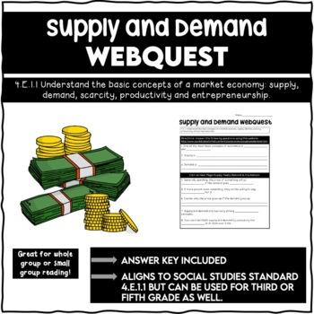 Supply and Demand Webquest 4.E.1.1