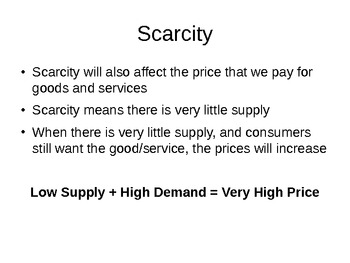 Supply and Demand in the Free Market