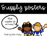 Supply posters