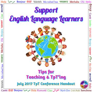 Support English Language Learners
