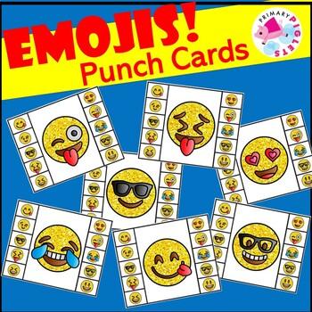 Emoji Punch Cards