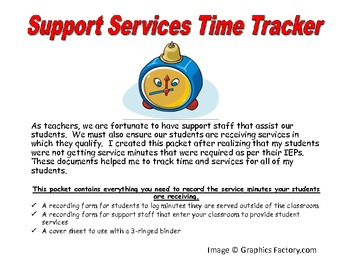 Support Services Time Tracker