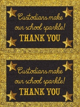 FREEBIE Support Staff Thank You Notes