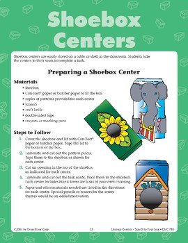 Support the Topic Sentence (Shoebox Center)