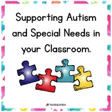 Autism and Special Needs Training Pack