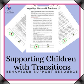 Supporting Children with Transitions