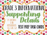 Reading STAAR Test Prep Main Idea Supporting Details UPDATED! 3.9Di & 3.7C