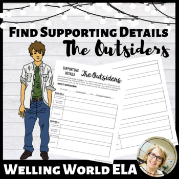 Supporting Details in The Outsiders