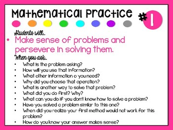 Supporting Mathematical Practices Through Questioning