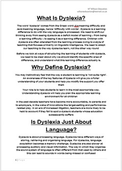 Supporting Those With Dyslexia