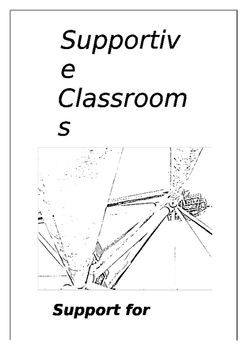 Supportive Classrooms Booklet