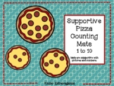 Supportive Pizza Counting Mats