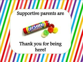 Supportive parents are lifesavers/ Los padres que brindan apoyo son  salvavidas.