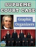 Supreme Court Case Graphic Organizers